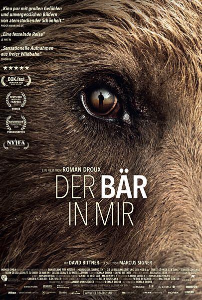 """Filmplakat für """"DER BÄR IN MIR - FILMSTART IN ÖSTERREICH"""""""