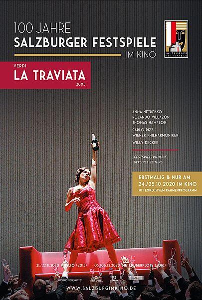 """Movie poster for """"SALZBURG IM KINO 20/21: VERDI - LA TRAVIATA"""""""