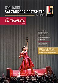 "Movie poster for ""SALZBURG IM KINO 20/21: VERDI - LA TRAVIATA"""