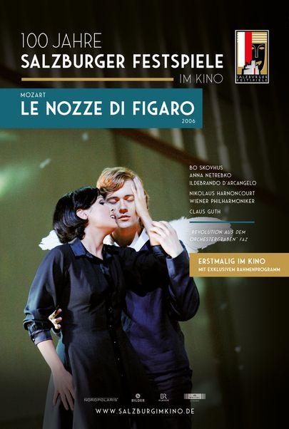 "Movie poster for ""SALZBURG IM KINO 20/21: MOZART - LE NOZZE DI FIGARO"""