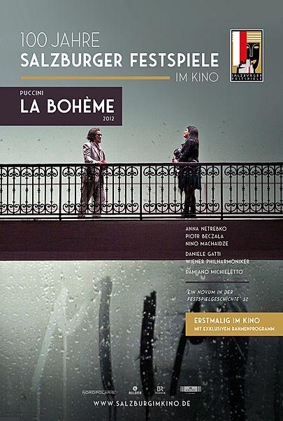 "Filmplakat für ""SALZBURG IM KINO 20/21: PUCCINI - LA BOHÈME"""