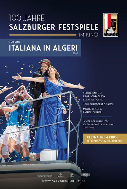 """Movie poster for """"SALZBURG IM KINO 20/21: ROSSINI - ITALIANA IN ALGERI"""""""