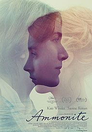 "Movie poster for ""AMMONITE"""