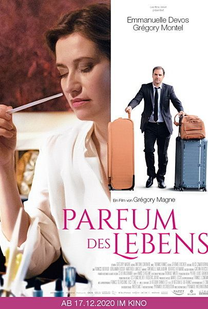 "Movie poster for ""LES PARFUMS"""