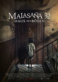 "Movie poster for ""MALASANA 32 - HAUS DES BÖSEN"""