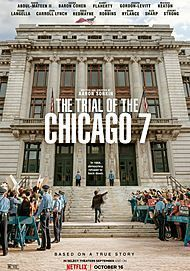 """Movie poster for """"The Trial of the Chicago 7 """""""