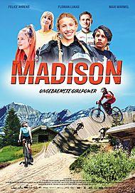 """Filmplakat für """"MADISON - UNGEBREMSTE GIRLPOWER"""""""