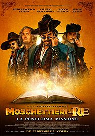 "Movie poster for "" Moschettieri Del Re"""