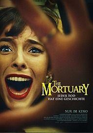 """Movie poster for """"THE MORTUARY – JEDER TOD HAT EINE GESCHICHTE"""""""