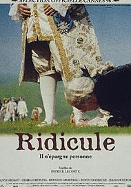"""Movie poster for """"RIDICULE"""""""