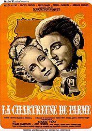 """Affiche du film """"LA CHARTREUSE DE PARME"""""""