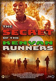 """Movie poster for """"THE SECRET OF THE KENYAN RUNNERS"""""""