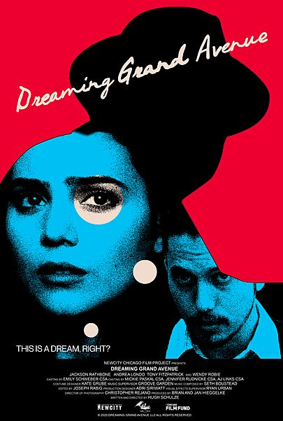 """Movie poster for """"DREAMING GRAND AVENUE"""""""