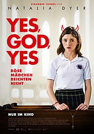 """Movie poster for """"YES, GOD, YES"""""""