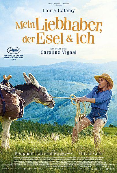 """Filmplakat für """"MEIN LIEBHABER, DER ESEL & ICH"""""""