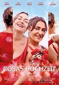 "Movie poster for ""ROSA'S WEDDING"""