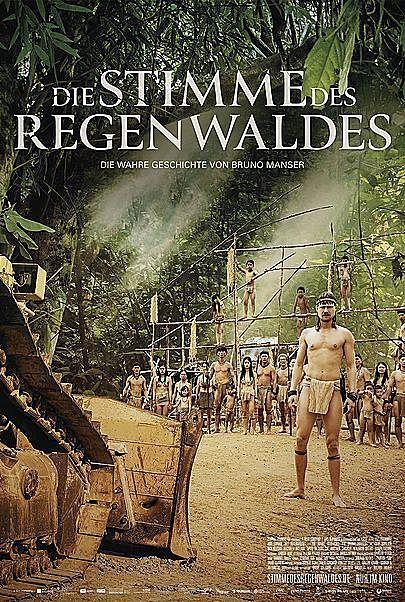 """Filmplakat für """"DIE STIMME DES REGENWALDES - FILMSTART IN ÖSTERREICH"""""""