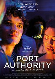 """Movie poster for """"PORT AUTHORITY"""""""