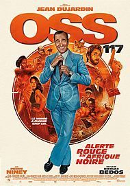 "Movie poster for ""OSS 117 : ALERTE ROUGE EN AFRIQUE NOIR"""