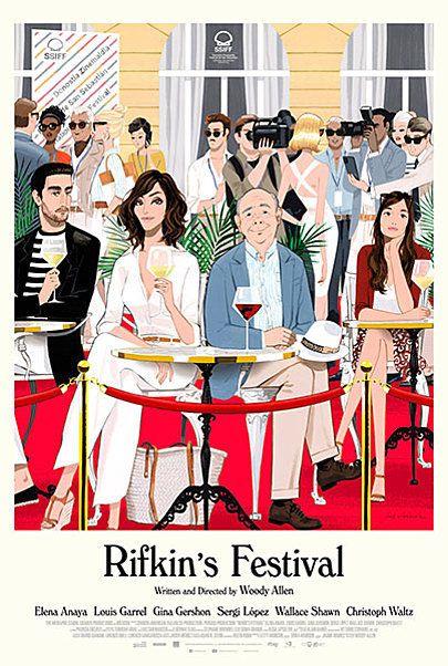 """Movie poster for """"Rifkin's Festival"""""""