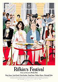 "Movie poster for ""Rifkin's Festival"""