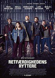 """Movie poster for """"RETFÆRDIGHEDENS RYTTERE"""""""
