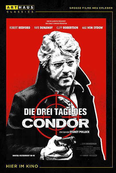 """Filmplakat für """"DIE DREI TAGE DES CONDOR"""""""
