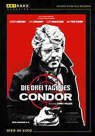 """Movie poster for """"THREE DAYS OF THE CONDOR"""""""
