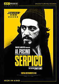 "Movie poster for ""SERPICO"""