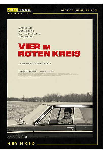 """Filmplakat für """"VIER IM ROTEN KREIS"""""""