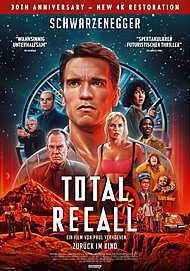 """Filmplakat für """"TOTAL RECALL - DIE TOTALE ERINNERUNG (WA)"""""""