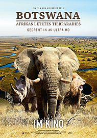 "Movie poster for ""BOTSWANA - AFRIKAS LETZTES TIERPARADIES"""