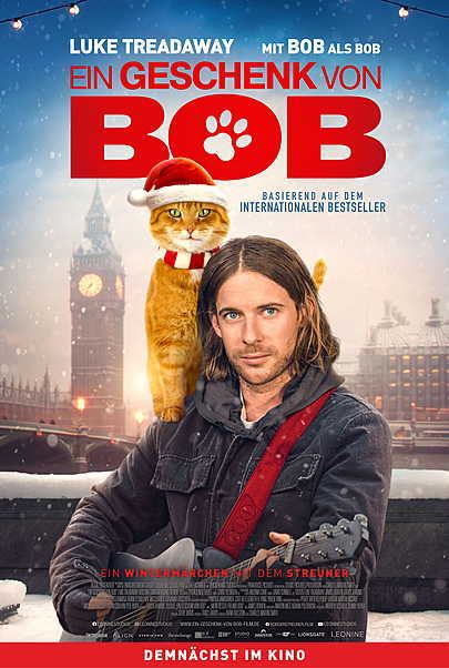 """Movie poster for """"A GIFT FROM BOB"""""""