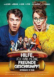 """Movie poster for """"HILFE, ICH HAB MEINE FREUNDE GESCHRUMPFT"""""""