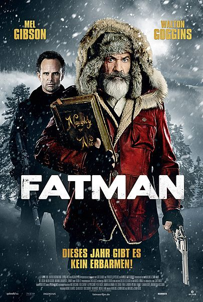 """Movie poster for """"FATMAN"""""""