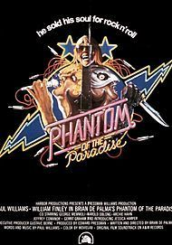 """Movie poster for """"PHANTOM OF THE PARADISE """""""