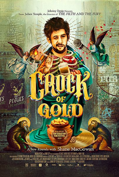 """Movie poster for """"CROCK OF GOLD"""""""