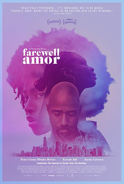 "Movie poster for ""FAREWELL AMOR"""