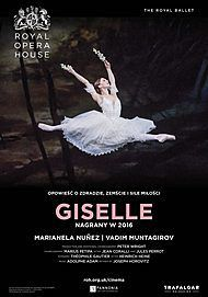 """Movie poster for """"GISELLE - ROYAL OPERA HOUSE 2020"""""""