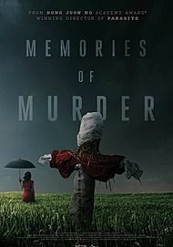 """Movie poster for """"MEMORIES OF MURDER"""""""