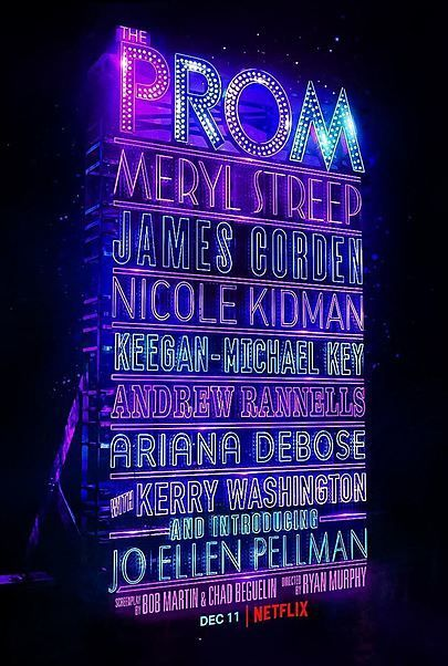 """Movie poster for """"THE PROM"""""""