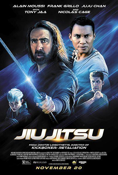 "Movie poster for ""JIU JITSU"""