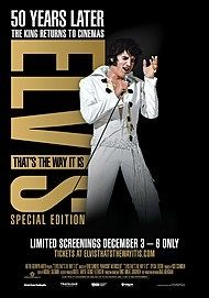 "Movie poster for ""ELVIS: THAT'S THE WAY IT IS: SPECIAL EDITION"""