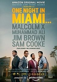 "Movie poster for ""ONE NIGHT IN MIAMI"""