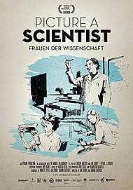 "Movie poster for ""PICTURE A SCIENTIST"""