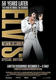 """Movie poster for """"ELVIS: THAT'S THE WAY IT IS: SPECIAL EDITION"""""""