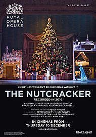 "Movie poster for ""THE NUTCRACKER - ROYAL OPERA HOUSE (2020)"""