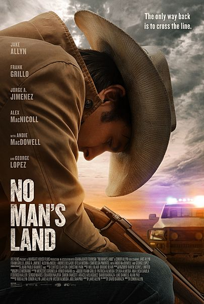 """Movie poster for """"NO MAN'S LAND"""""""