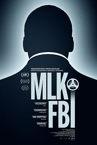 """Movie poster for """"MLK/FBI"""""""