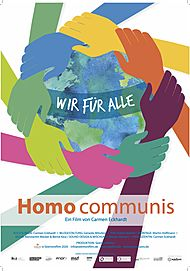 "Movie poster for ""HOMO COMMUNIS – WIR FÜR ALLE"""